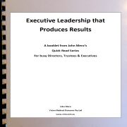 Assessing Executive Leadership that Produces Results Image