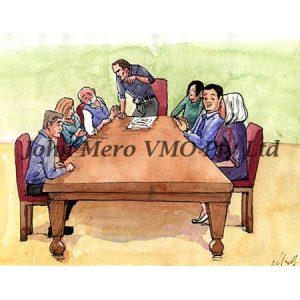 Normal social norms apply in the Boardroom